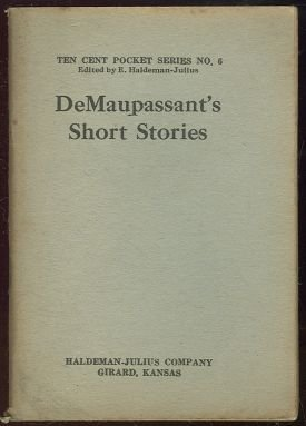 De Maupassant Short Stories Ten Cent Pocket Series #6