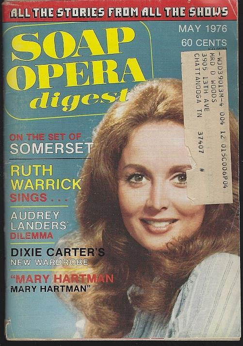 Soap Opera Digest May 1976 Suzanne Rogers Cover/Ruth Warrick/Audrey Landers