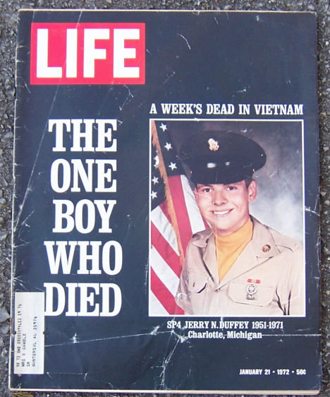 Life Magazine January 21, 1972 The One Boy Who Died