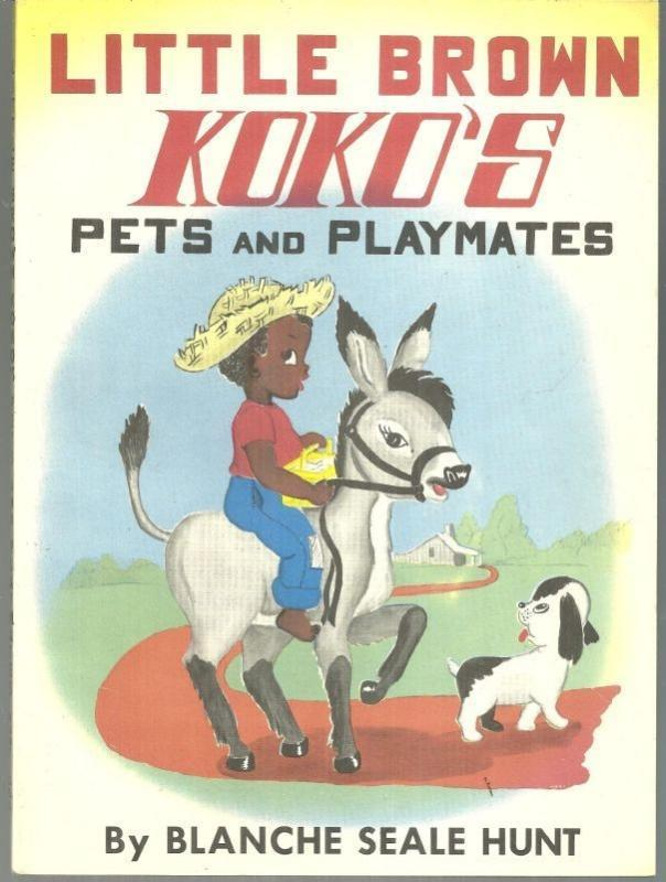 Little Brown Koko's Pets and Playmates by Blanche Seale Hunt 1959 Picture Book