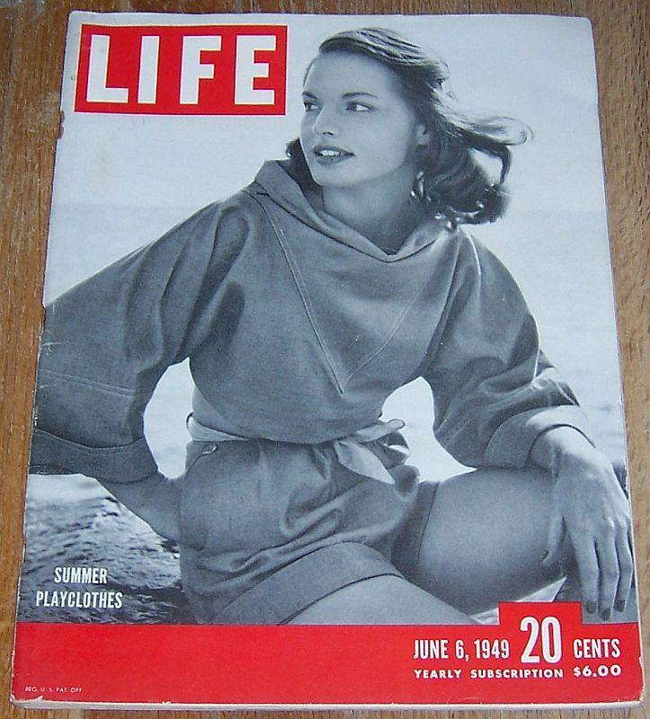 Life Magazine June 6, 1949 Ronnie Porter on Cover