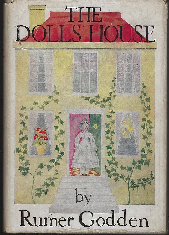 Dolls' House by Rumer Godden 1949 Illustrated by Dana Saintsbury Dust Jacket