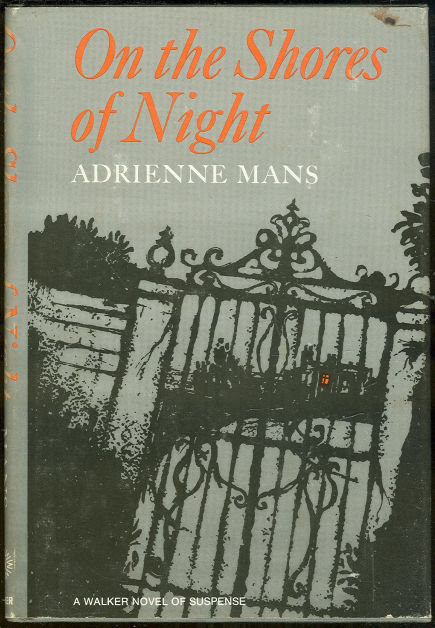 On the Shores of Night by Adrienne Mars 1967 1st ed DJ