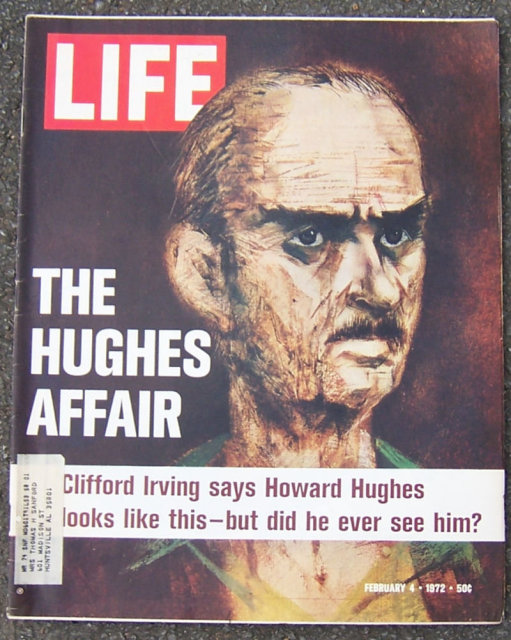 Life Magazine February 4, 1972 Howard Hughes on Cover