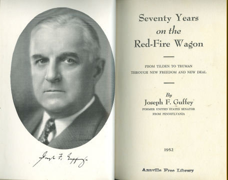 Seventy Years on the Red Fire Wagon by Joseph Guffey