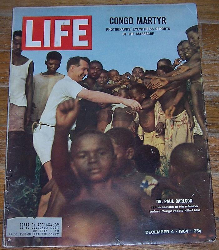 Life Magazine December 4, 1964 Dr. Paul Carson Cover/Soapy Sex/Marc Chagall