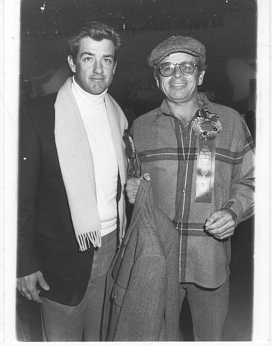 Original Photograph Doug Sheehan and William Devane Knot's Landing 1986 Parade