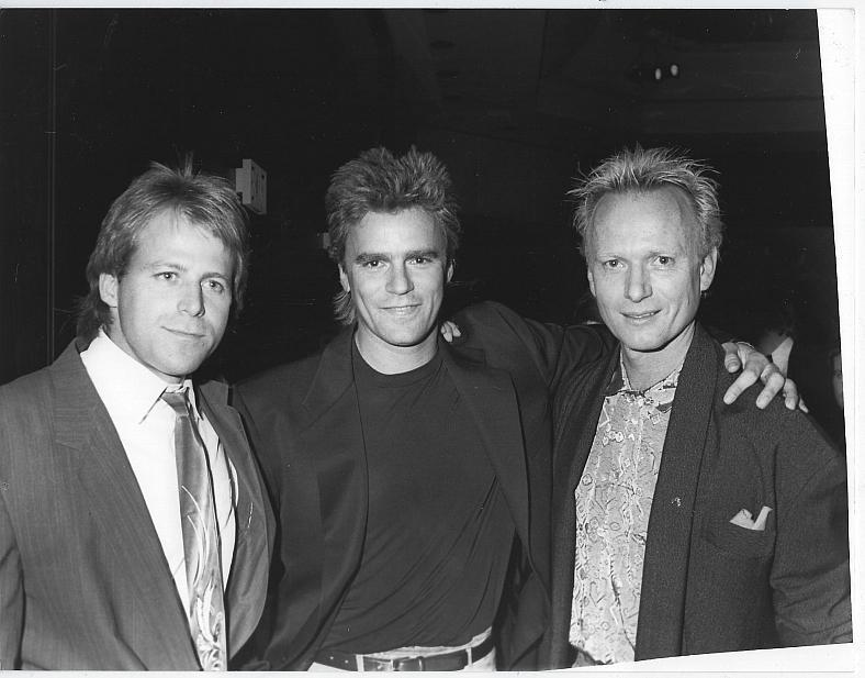 Original Photograph Kin Shriner Richard Dean Anderson Anthony Geary General Hospital