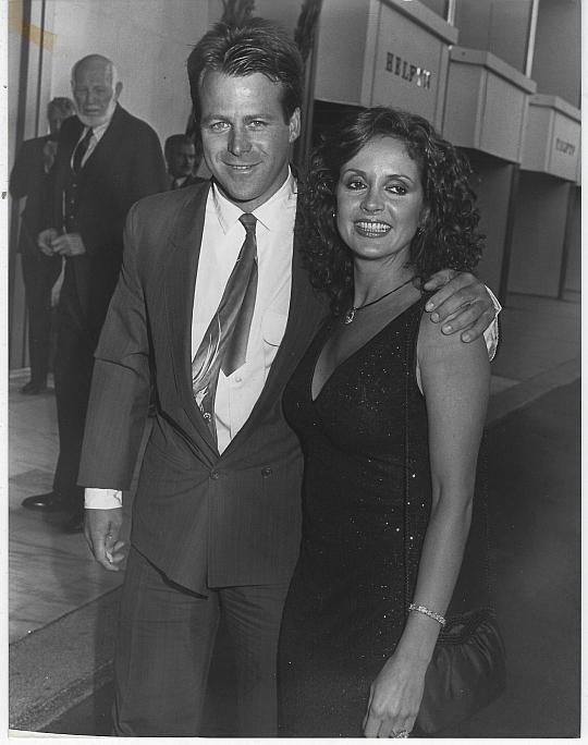 Original Photograph Kin Shriner and Jackie Zeman From General Hospital 1987