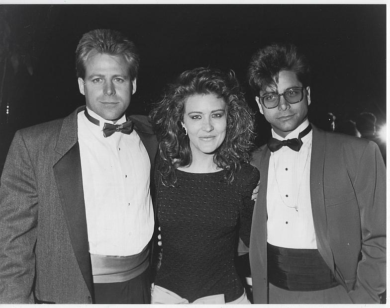 Original Photograph Kin Shriner, Robyn Bernard and John Stamos, General Hospital