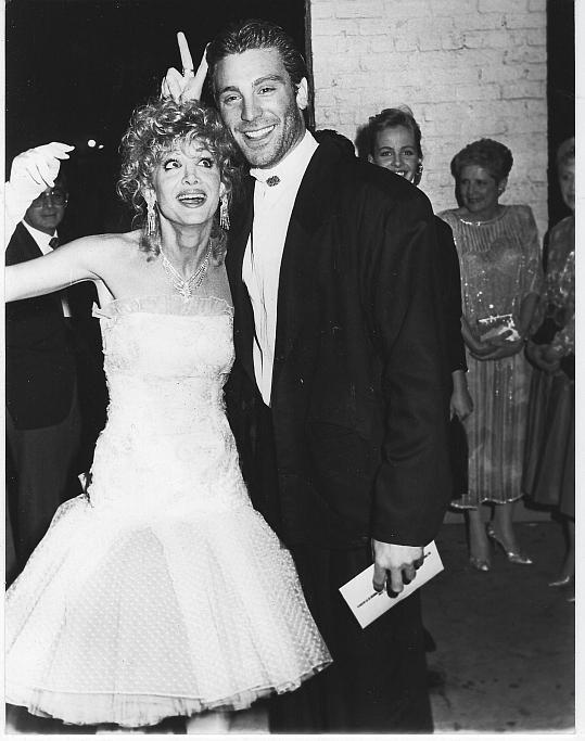 Original Photograph Arleen Sorkin and Michael Weiss From Days of Our Lives 1988