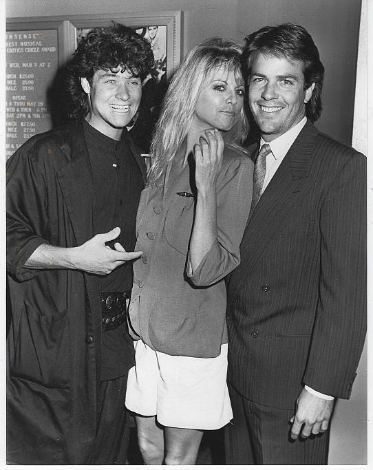 Original Photograph Brian Genessee, Roberta Leighton and Corey Young 1988
