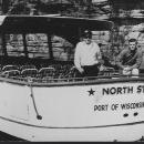 Unused Real Photo Postcard of North Star, Port of Wisconsin Dells, Wisconsin