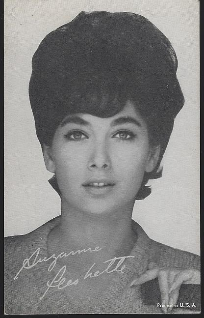 Vintage Arcade Card of Actress Suzanne Pleshette