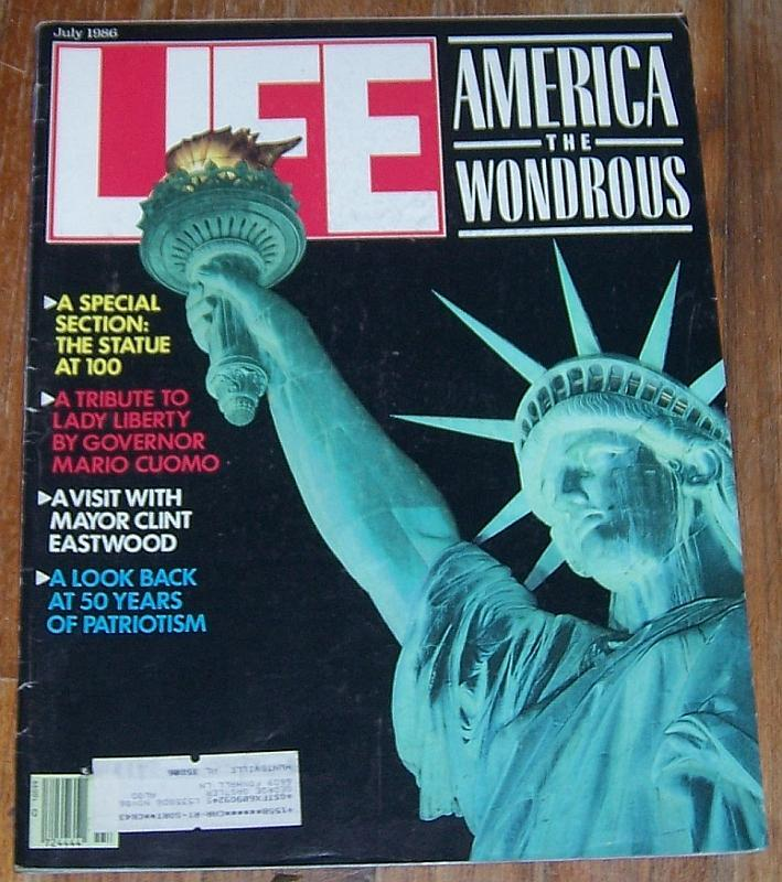 Life Magazine July 1986 America The Wonderous Cover/Carmel CA/First Ladies/