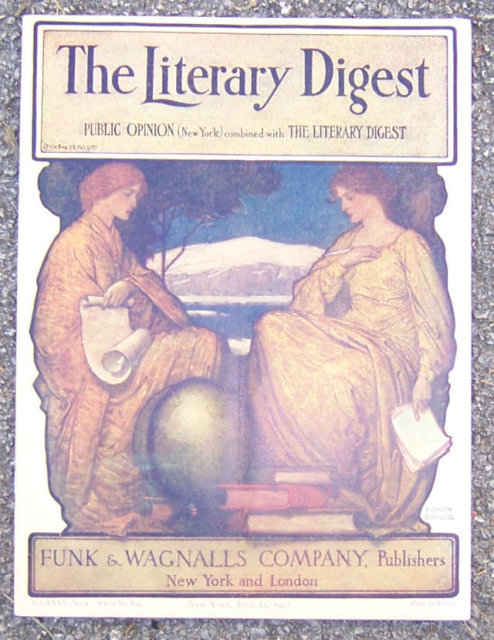 Literary Digest Magazine July 13, 1907 Pres Roosevelt