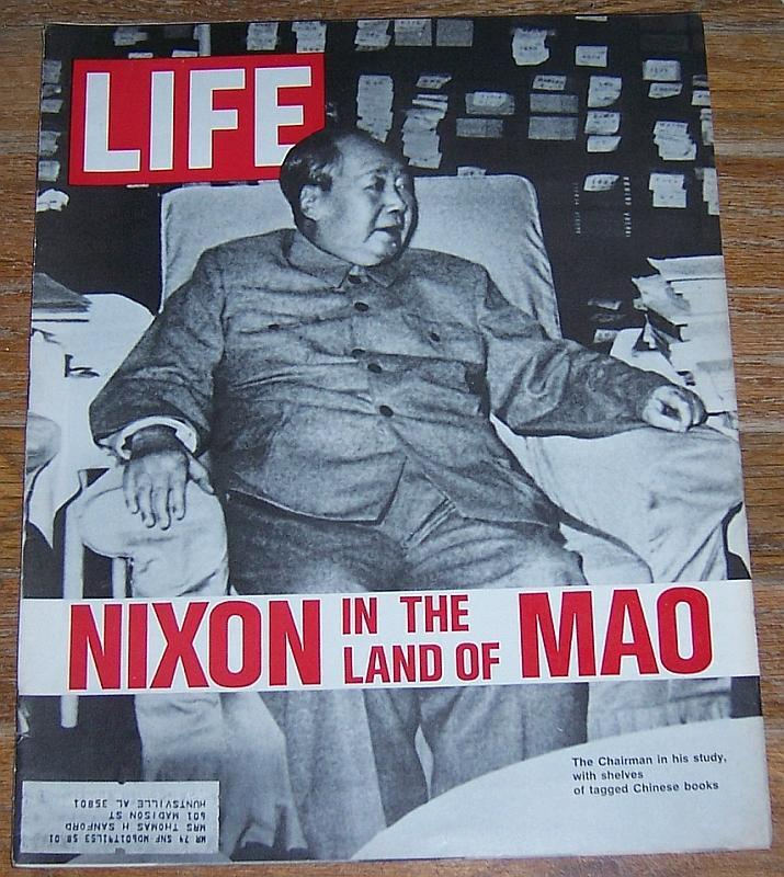 Life Magazine March 3, 1972 Nixon in the Land of Mao Cover/Richard Bach/Fashion