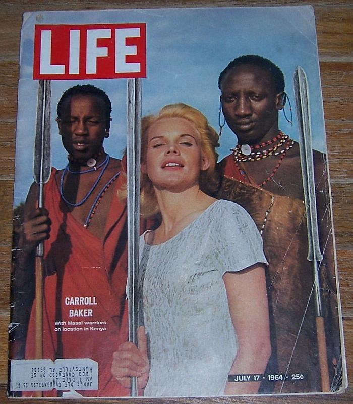Life Magazine July 17, 1964 Carroll Baker Cover/Michelangelo/Olympics/MacArtur