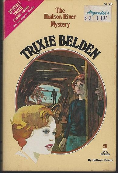 Trixie Belden and the Hudson River Mystery #28 by Kathryn Kenny 1979 1st edition