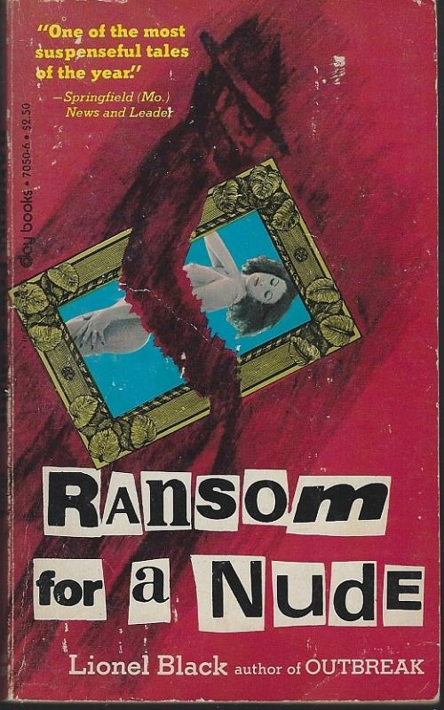 Ransom for a Nude by Lionel Black 1982 Vintage Paperback Mystery