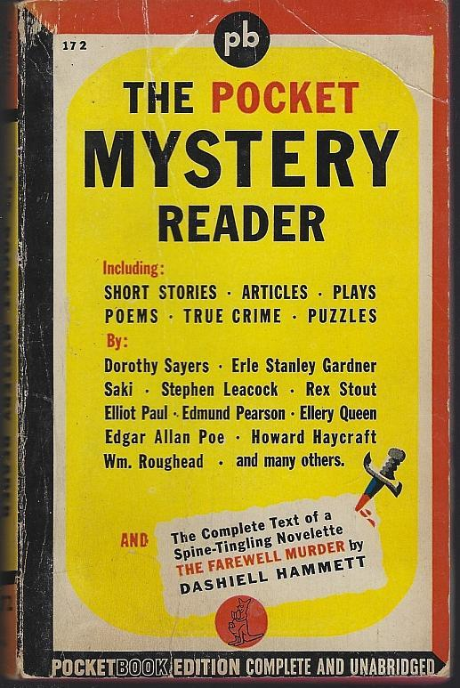 Pocket Mystery Reader Edited by Lee Wright 1943 Vintage Paperback