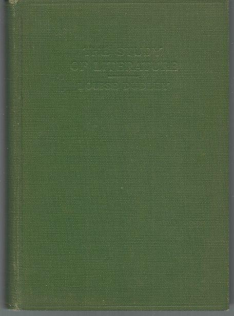 Study of Literature by Louise Dudley 1928 1st edition Vintage School Book