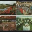 Postcard Hotel Hershey, Lobby, Terrace and Dining Room, Hershey, Pennsylvania