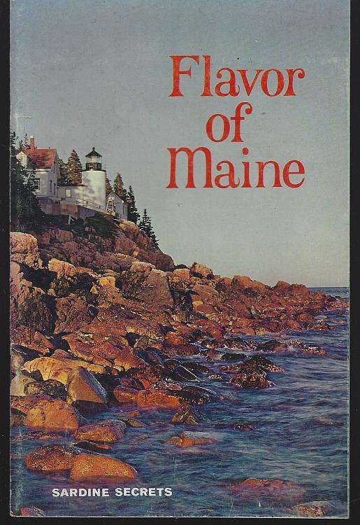 Flavor of Maine Sardine Secrets 1961 Illustrated Recipes Vintage Cookbook