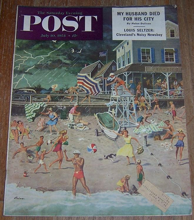Saturday Evening Post Magazine July 10, 1951 Doctors/Russian Farmers/White Sox