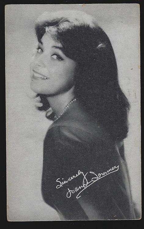 Jazz Singer Joanie Sommers Vintage Arcade Card and Short Biography