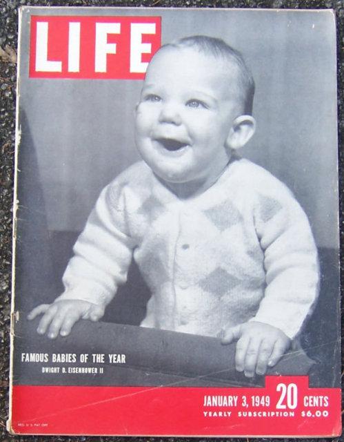 Life Magazine January 3, 1949  Famous Babies Cover