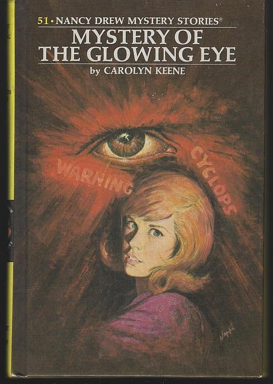 Mystery of the Glowing Eye by Carolyn Keene Nancy Drew Mystery Series #51 Matte