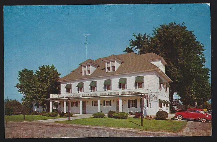 Surrey House, Harrison, Michigan Restaurant Hotel Vintage Unused Postcard Travel