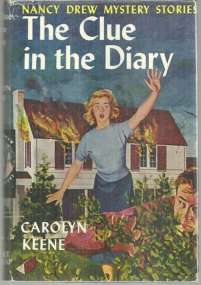 Clue in the Diary by Carolyn Keene Nancy Drew #7 with Dust Jacket