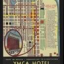 YMCA Hotel Downtown Wabasg Avenue, Chicago, Illinois Vintage Unused Postcard
