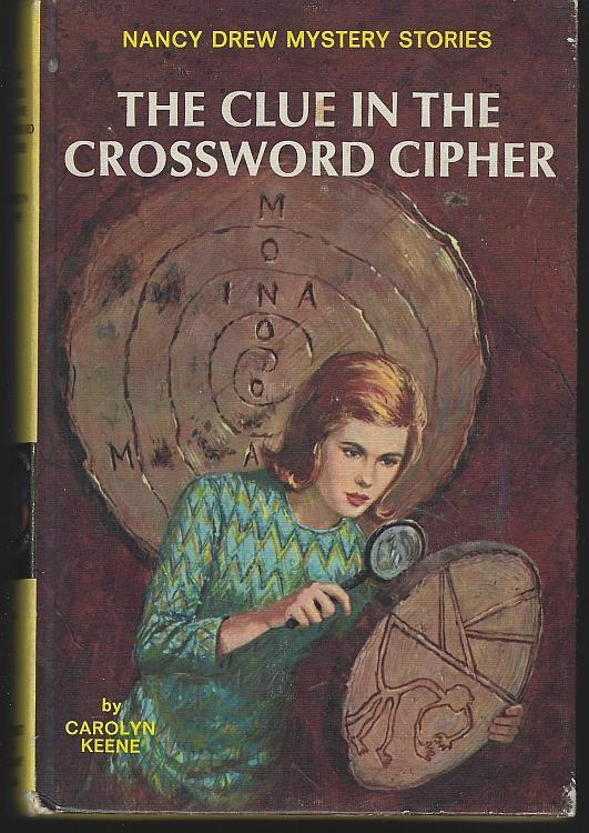 Clue in the Crossword Cipher by Carolyn Keene Nancy Drew #44 Matte Cover 1967
