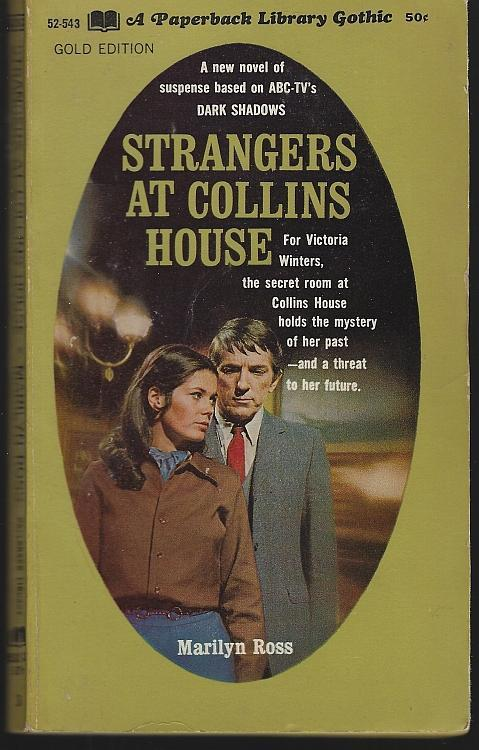 Strangers at Collins House by Marilyn Ross Dark Shadows #3 1968 Gothic Mystery