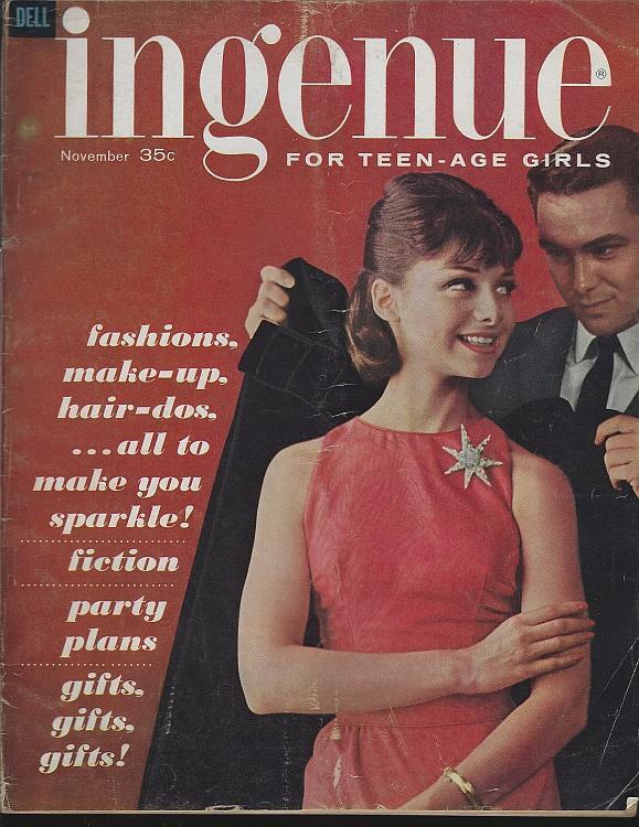 Ingenue Magazine April 1961 Teens/Prom/Paul Anka/Glasses/Hope Chest/Fashion
