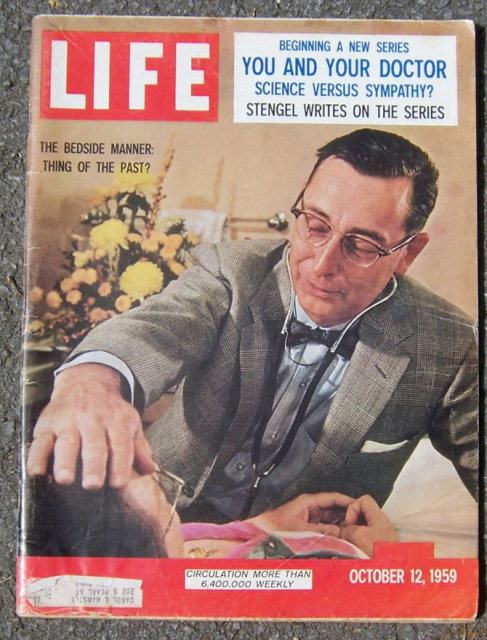 Life Magazine October 12, 1959  You and Your Doctor