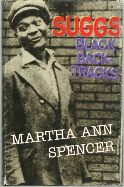 Suggs Black Backtracks Signed by Martha Ann Spencer DJ