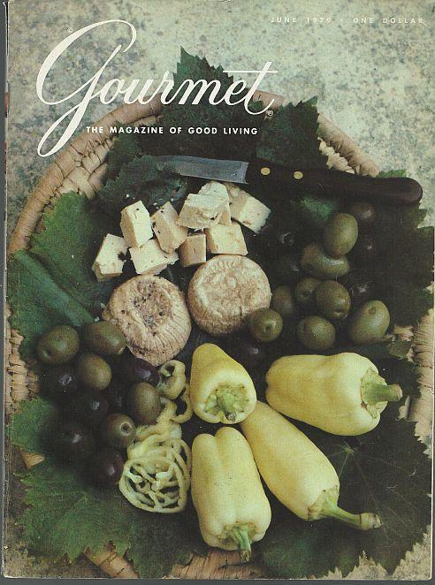 Gourmet Magazine June 1979 Gozo Market on Cover/Breads/Ratatouille/ Brighton