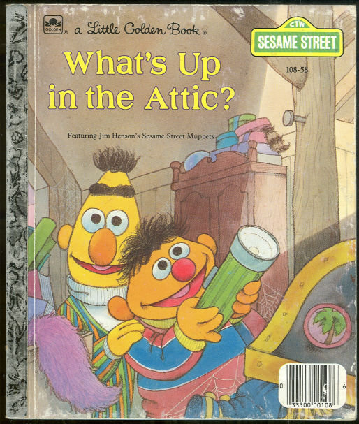 What's Up in the Attic with the Muppets Golden Book