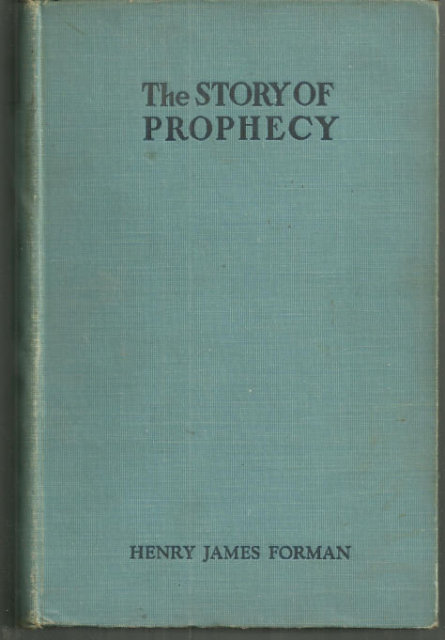 Story of Prophecy in the Life of Mankind 1940 Illus