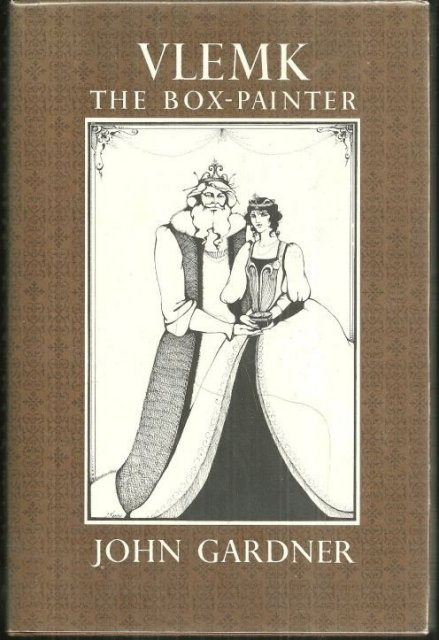 Vlemk the Box-Painter Signed by John Gardner 1979 1st
