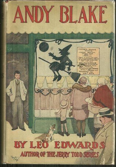 Andy Blake by Leo Edwards 1928 Boy's Series with DJ