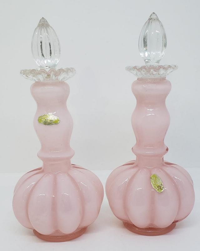 Fenton Rose Overlay Vanity Set