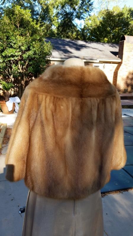 Cullum's Short Mink Jacket