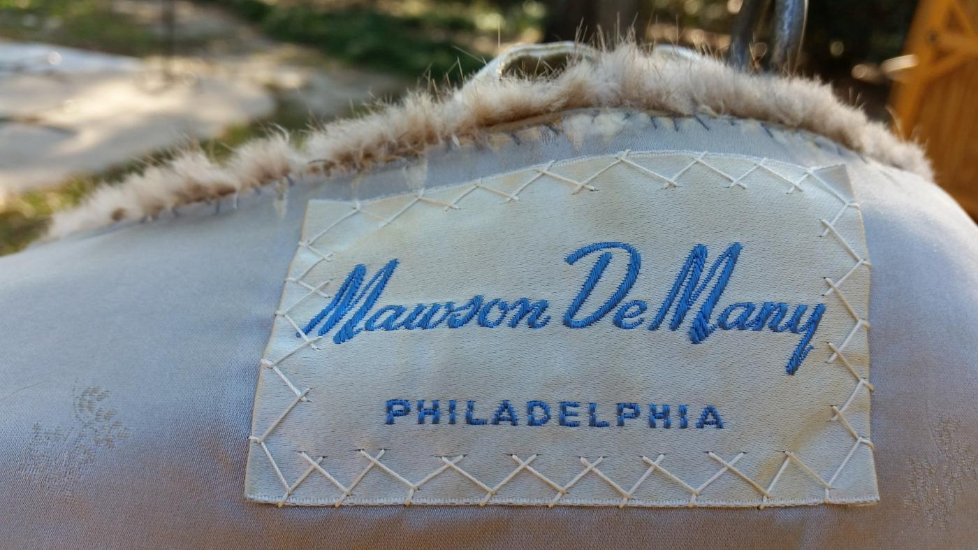 Mawson DeMany Silver-Brown Mink Jacket