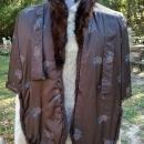 Dark Brown Fur Stole