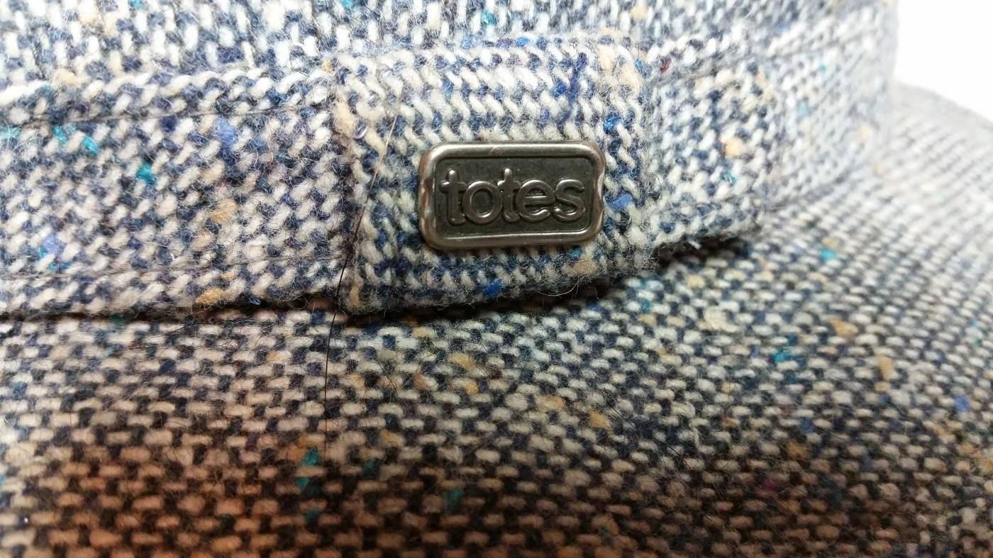 Men's Gray Wool Tweed Fedora by Totes